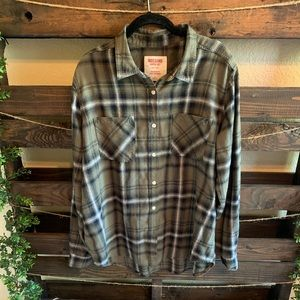 Mossimo Flannel Plaid shirt